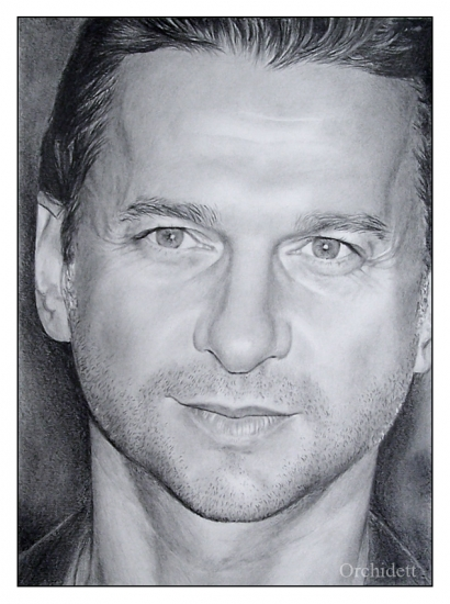 Dave Gahan by Orchidett